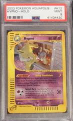 Hypno-Holo H12/H32 PSA 9 Mint Aquapolis