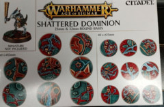 25mm & 32mm Shattered Dominion Round Bases