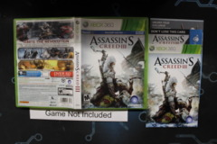 Assassin's Creed III (Walmart Edition) - Case