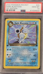 DARK BLASTOISE 20/82 PSA 10 GEM MT 1st Edition Team Rocket