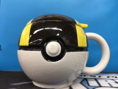 Pokemon Ultraball Ceramic Mug w/ Lid