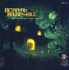 Betrayal at House on the Hill Sealed but damaged box