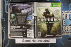 Call of Duty 4: Modern Warfare (Platinum Hits) - Case