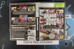 Grand Theft Auto: Libery City Stories (Platinum Edition) - Case