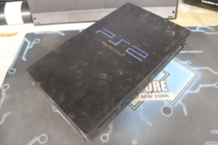 Black Playstation 2 Fat Console (SCPH-39001/N): Parts or Repair Only - Sold as is