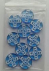 Blue Android Promo Token Agenda Counter (10)