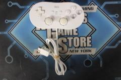 Accessory: Wii Classic Controller (White, RVL-005)