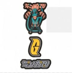 Pokemon Center Secret Teams Stickers - Team Galactic