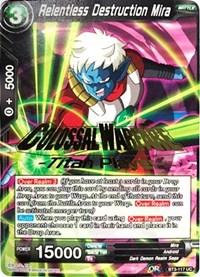 Relentless Destruction Mira 4x BT3-117 UC Dragon Ball Super PLAYSET