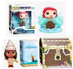 Funko Disney Treasures Under The Sea Box Hot Topic Exclusive