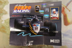 Al Unser Jr. Turbo racing Poster