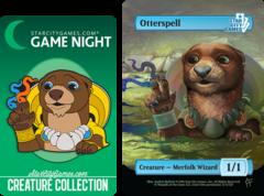Otterspell: Creature - Merfolk Wizard 1/1 (Foil)