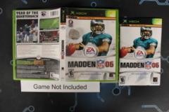Madden NFL 06 - Case