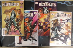 Domino: Hotshots - Issues # 1A, 2A, 3, 4 (2019)