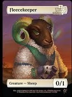 Fleecekeeper: Creature - Sheep 0/1 (Foil)