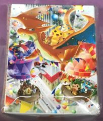 Pokemon Center Tokyo Grand Op Pikachu & Charizard Deck Box Sealed
