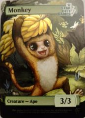 Monkey: Creature - Ape 3/3 (Foil)