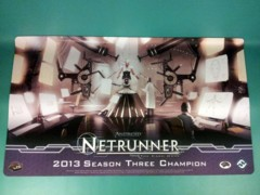 Android: Netrunner 2013 Season 3 Champion Playmat