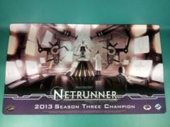 Android: Netrunner 2013 Season 3 Champion Playmat