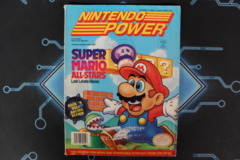 Nintendo Power Sept Vol. 52 W/ cards & Poster