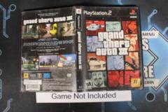 Grand Theft Auto III - Case