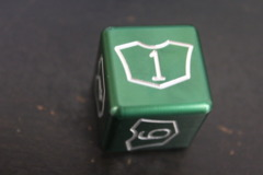 Green Large Planeswalker Loyalty Counter 1-6 Metal