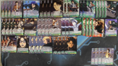 Attack on Titan: Mono Green - Levi / Hange Deck