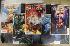 Age of Conan: Valeria - Issues #1A, 2A, 3, 4, 5 (2019)