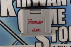 Accessory: Nuby 1mb Memory Card