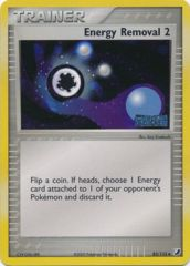 Energy Removal 2 - 82/115 - Uncommon - Reverse Holo