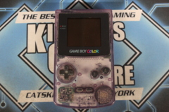Game Boy Color Console: Atomic Purple (CGB-001) -Has Volume Adjustment Issue.