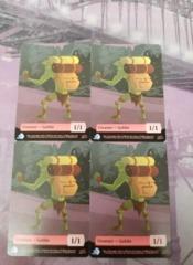 Goblin Creature Token 1/1 X4