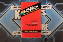 Activision: Video Game Cartridge Catalog - Winter, 1982