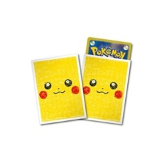 Pokemon Pikachu Face Sleeves 64 Count