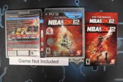 NBA 2K12 - Case