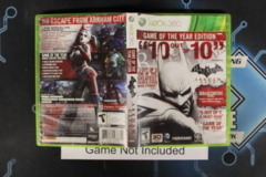 Batman: Arkham City ( Game of the Year Edition) - Case