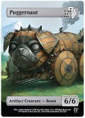 Puggernaut: Artifact Creatur - Beats 6/6 (Foil)