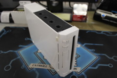 Wii White Console Only GameCube Compatable