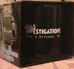Exclusive Jessica Jones Alias Investigations Coffee Mug - Hell's Kitchen, NY