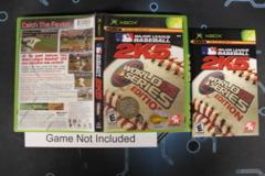Major League Baseball 2K5 - Case