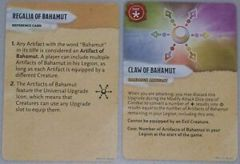 Attack Wing: Claw of Tiamat/Claw of Bahamut Prize Card