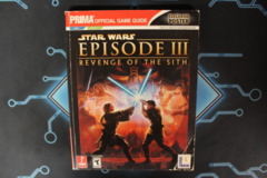 Star Wars: Episode III Revenge of the Sith Prima Official Game Guide with Poster (PS2, XBox)