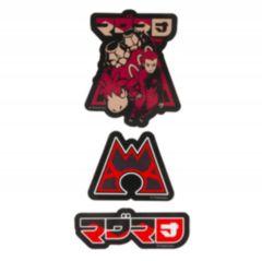 Pokemon Center Secret Teams Stickers - Team Magma