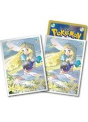 Pokemon Center Lilly & Cosmog Sleeves 64 Count