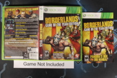 Borderlands (Game of the Year Edition) - Case