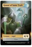 Goose of Saint Traft: Creature - Angel 4/4 (Foil)