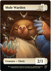 Mole Warden: Creature - Cleric 2/1 (Foil)