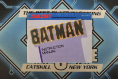 Batman Instruction Manual (NES)