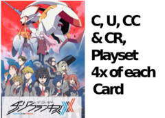 Darling C,U, CC & CR Playset (4x of each card)