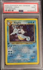 Kingdra-Holo 8/111 PSA 9 1st Edition Neo Genesis